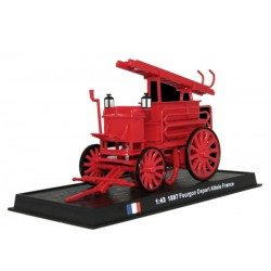 Fourgon Depart Attele - 1897 die-cast model 1:43