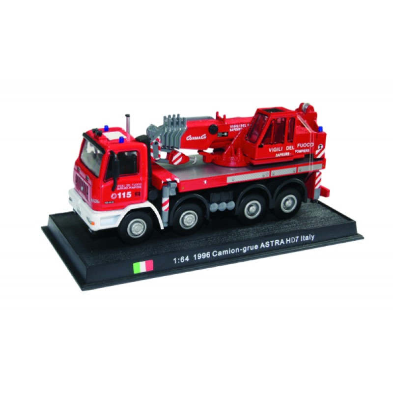 Astra HD7 Italy - 1996 die-cast model 1:64