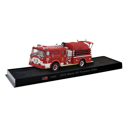 Mack CF Pumper USA die-cast Fire Truck Model 1:64