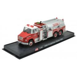 Freightliner Tanker USA die-cast Fire Truck Model 1:64