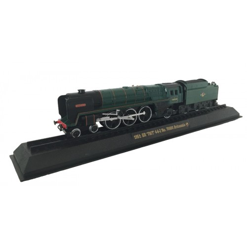 BR '7MT' 4-6-2 No. 70000 Britannia - 1951 Diecast Model 1:76 Scale