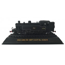 LMS/BR '2MT' 2-6-2T No. 41302 - 1952 Diecast Model 1:76 Scale