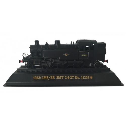 LMS/BR '2MT' 2-6-2T No. 41302 - 1952 Diecast Model 1:76 Scale