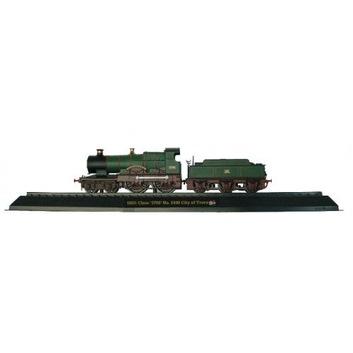 Class '3700' No. 3440 City of Truro - 1903 Diecast Model 1:76 Scale