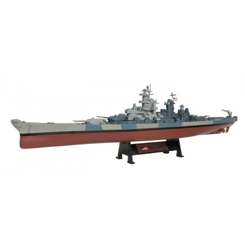 USS Iowa 1944 - 1:1000 Ship Model