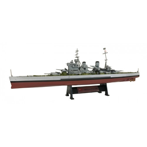 HMS Duke of York 1945 - 1:1000 Ship Model