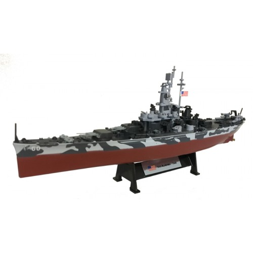 USS ALABAMA - 1944 - 1:1000 Ship Model