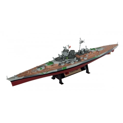 Tirpitz 1942 - 1:1000 Ship Model