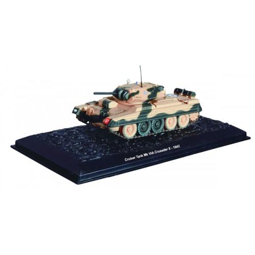 Cruiser Tank Mk. VIA CRUSADER II - 1942 die-cast model 1:72