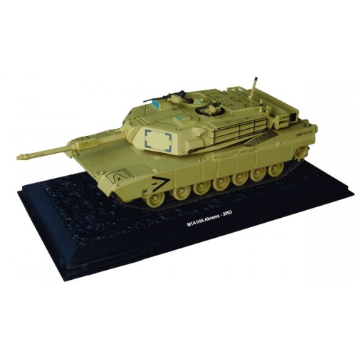 M1A1H1A Abrams - 2003 die-cast model 1:72