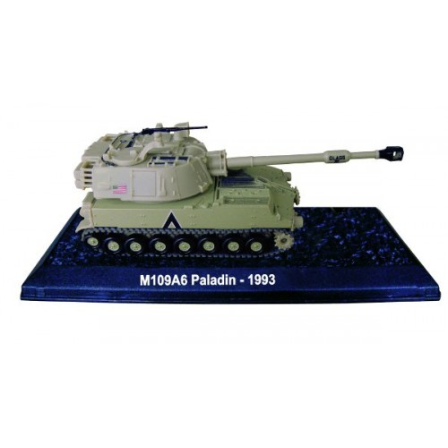 M109A6 Paladin - 1993 die-cast model 1:72