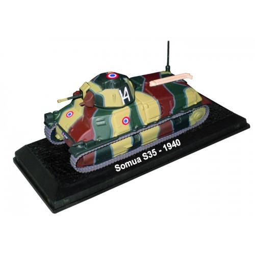 Somua S35 - 1940 die-cast model 1:72