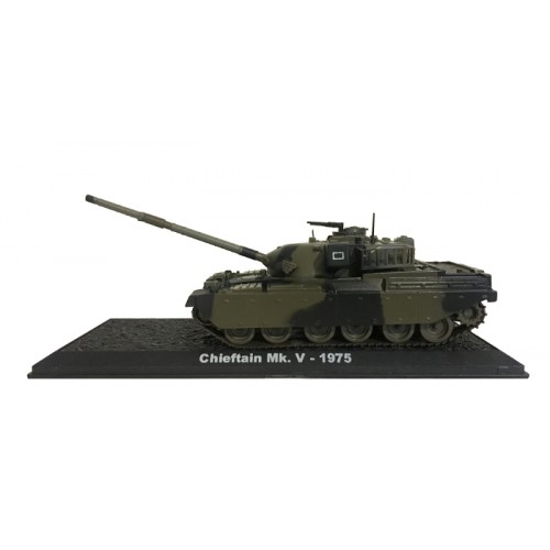 Chieftain Mk. V - 1975 die-cast model 1:72