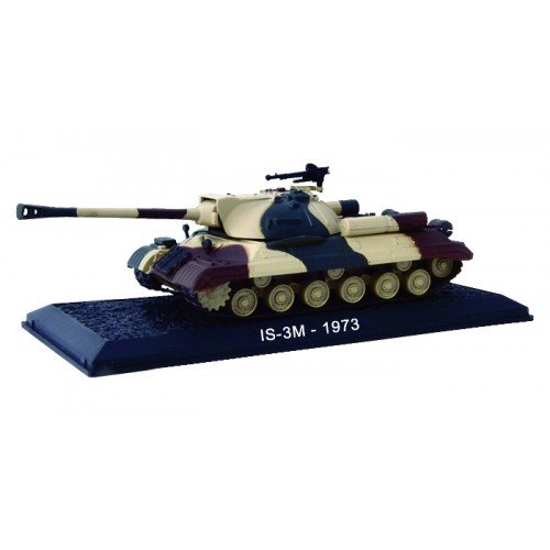 IS-3M - 1973 die-cast model1:72