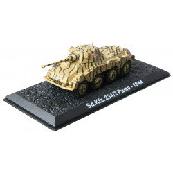 SD.KFZ. 234/2 PUMA - 1944 die-cast model 1:72