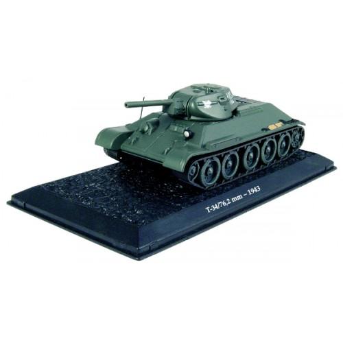 T-34 - 1943 die-cast model 1:72