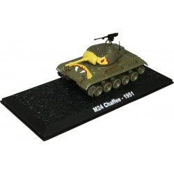 M24 Chaffee - 1951 die-cast model 1:72