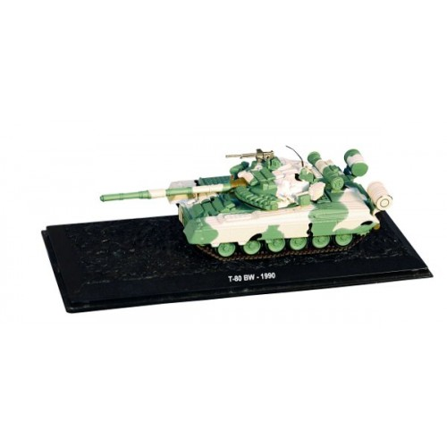 T-80BW - 1990 die-cast model 1:72