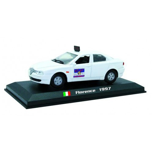 Alfa Romeo 156 - Florence 1997 die-cast model 1:43