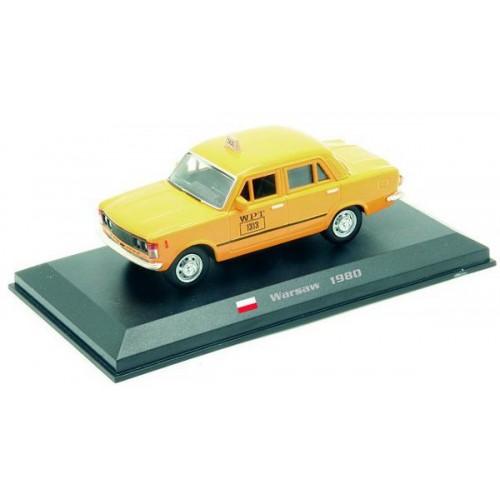 Fiat 125p - Warsaw 1980 die-cast model 1:43