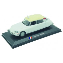 Citroen DS 19 - Paris 1968 die-cast model 1:43