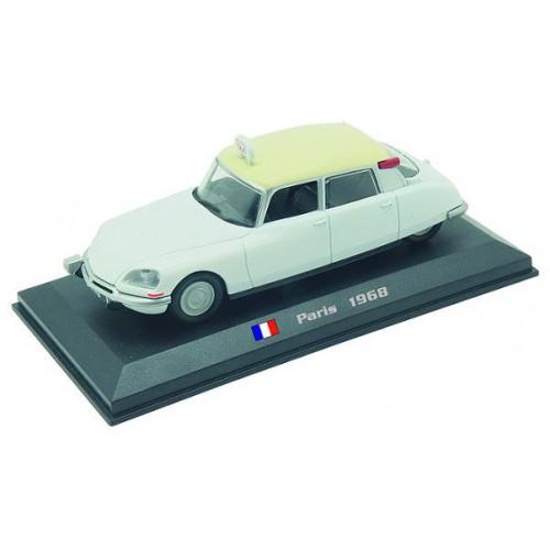 Citroen DS 19 - Paris 1968 die-cast model 1:43