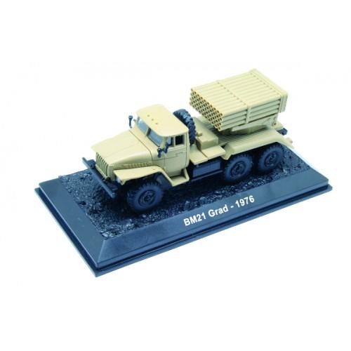 BM-21 Grad - 1976 die-cast model 1:72