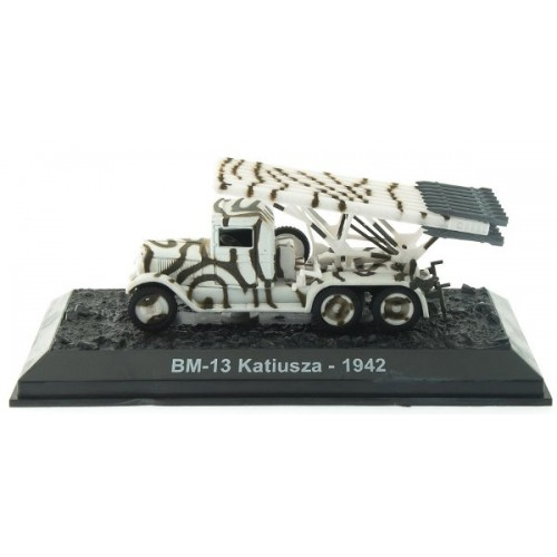 BM-13 Katyusha - 1942 die-cast model 1:72